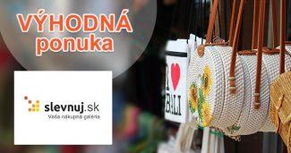 Zľavy a akcie na posledné kusy na Slevnuj.sk