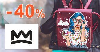 Zľavy na BATOHY až do -40% na KroonWear.com
