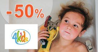 Zľavy na rozbalený tovar až do -50% na 4kids.sk