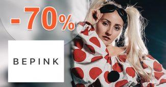 Zľavy na vybranú módu až do -70% na BePink.sk
