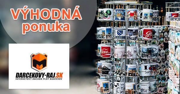 Zľavy na vybraný sortiment na Darcekovy-raj.sk
