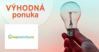 Zľavy na žiarovky a svetlá na KupZarovky.cz