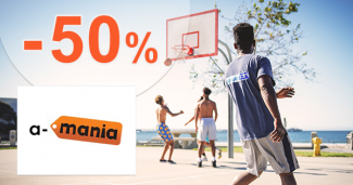 Značková móda a obuv až -50% na A-Mania.sk
