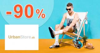 Značkový VÝPREDAJ → až do -90% na UrbanStore
