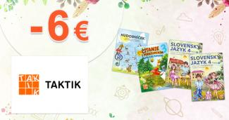 Zvýhodnené edukačné balíčky až -6€ na Taktik.sk