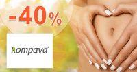 Zvýhodnené ponuky až -40% zľavy na Kompava.sk