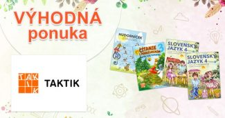 Zvýhodnené edukačné balíčky na Taktik.sk