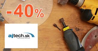Ajtech.sk zľavový kupón na zľavu -40% na domáce spotrebiče