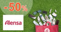 Alensa.sk zľavový kód zľava -50%, kupón, akcia, akcie, zľavy