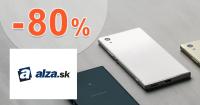 Alza.sk zľavový kód zľava -80%, kupón, akcia, zľavy, výpredaj