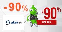 Alza.sk zľavový kód zľava -90%, kupón, akcia, zľavy, výpredaj