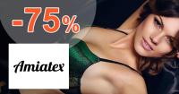 Amiatex.sk zľavový kód zľava -75%, kupón, akcia, výpredaj