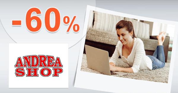 AndreaShop.sk zľavový kód zľava -60%, kupón, akcia, výpredaj na počítačovú techniku