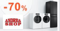 Top spotrebiče až -70% zľavy na AdnreaShop.sk