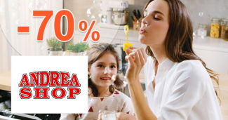 Akcie na tovar pre deti až -70% na AdnreaShop.sk