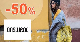 Answear.sk zľavový kupón na zľavu -50% na výpredaj jesennej kolekcie