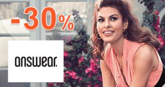 Answear.sk zľavový kód zľava -30%, kupón, akcia, výpredaj, zľavy, bestsellery týždňa