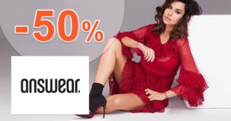 Answear.sk zľavový kód zľava -50%, kupón, akcia, výpredaj, zľavy, novinky, nová kolekcia