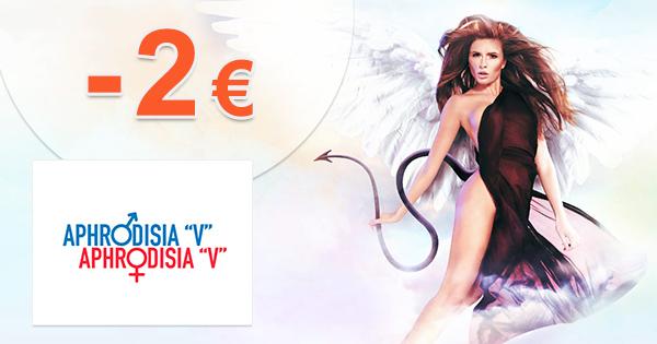 Aphrodisia.sk zľavový kód zľava -2€, kupón, akcia