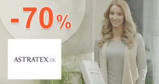 Astratex.sk zľavový kód zľava -70%, kupón, akcia