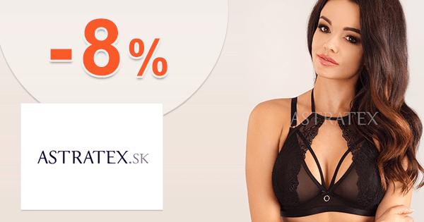 Astratex.sk zľavový kód zľava -8%, kupón, akcia