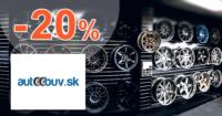 AutoObuv.sk zľavový kód zľava -20%, kupón, akcia, akcie, zľavy