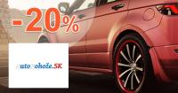 AutoRohoze.sk zľavový kód zľava -20%, kupón, akcia, výpredaj