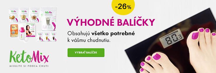 Výhodné balíčky na KetoMix.sk