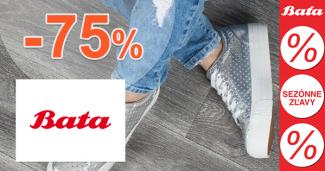 Bata.sk zľavový kód zľava -75%, kupón, akcia, výpredaj