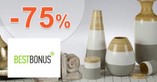 BestBonus.sk zľavový kód zľava -75%, kupón, akcia, výpredaj