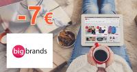 BigBrands.sk zľavový kód zľava -7€, kupón, akcia