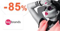 BigBrands.sk zľavový kód zľava -85%, kupón, akcia, výpredaj, zľavy