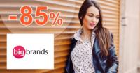 BigBrands.sk zľavový kód zľava -85%, kupón, akcia, akcie