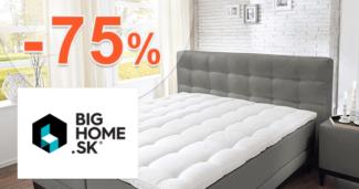 BigHome.sk zľavový kód zľava -75%, kupón, akcia, výpredaj, zľavy