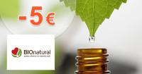 BioNatural.sk zľavový kód zľava -5€, kupón, akcia