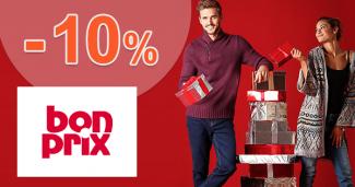 BonPrix.sk zľavový kód zľava -10%, kupón, akcia