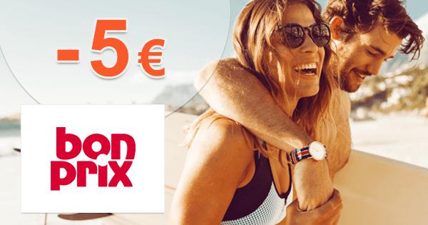 BonPrix.sk zľavový kód zľava -5€, kupón, akcia