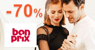 BonPrix.sk zľavový kód zľava -70%, kupón, akcia, výpredaj, akcie, zľavy na módu pre mužov