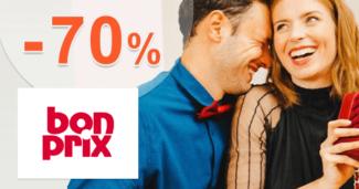 BonPrix.sk zľavový kód zľava -70%, kupón, akcia, výpredaj, akcie, zľavy na módu pre ženy