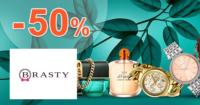 Brasty.sk zľavový kód zľava -50%, kupón, akcia, výpredaj, zľavy, akcie na parfémy