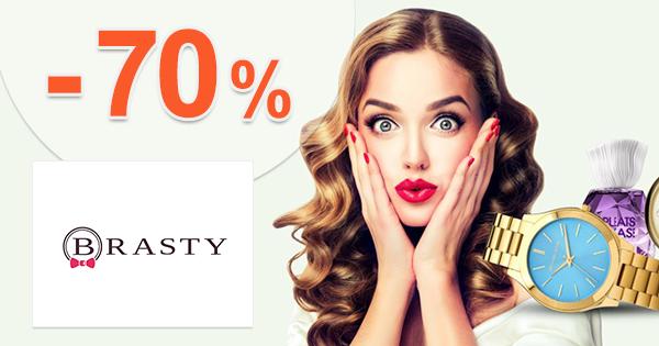 Brasty.sk zľavový kód zľava -70%, kupón, akcia, výpredaj
