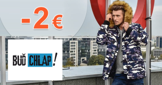 BudChlap.sk zľavový kód zľava -2€, kupón, akcia