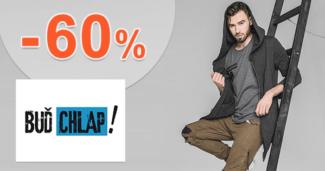 BudChlap.sk zľavový kód zľava -60%, kupón, akcia, akcie, zľavy, výpredaj na pánske oblečenie