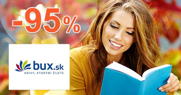 Bux.sk zľavový kód zľava -95%, kupón, akcia, výpredaj