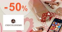 Chocolissimo.sk zľavový kód zľava -50%, kupón, akcia, výpredaj