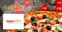 DajmeJedlo.sk zľavový kód zľava -4€, kupón, akcia