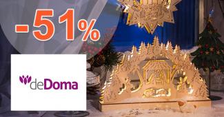Black Friday zľavy až -51% na deDoma.sk, kupón, akcia, zľava
