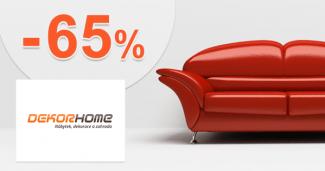 DekorHome.sk zľavový kód zľava -65%, kupón, akcia, výpredaj