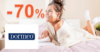Dormeo.sk zľavový kód zľava -70%, kupón, akcia, výpredaj