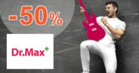 DrMax.sk zľavový kód zľava -50%, kupón, akcia, výpredaj